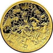 Australia 100 Dollars Northern Sky 2017 NORTHERN SKY coin reverse