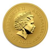 Australia 100 Dollars The Australian Nugget 2006 ELIZABETH II AUSTRALIA 100 DOLLARS IRB coin obverse