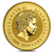 Australia 1000 Dollars Piglet 2007 ELIZABETH II AUSTRALIA 1000 DOLLARS IRB coin obverse