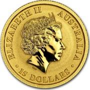 Australia 15 Dollars Australian Kangaroo 2017 ELIZABETH II AUSTRALIA 15 DOLLARS IRB coin obverse