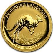 Australia 15 Dollars Australian Kangaroo 2017 AUSTRALIAN KANGAROO 2017 1/10 OZ 9999 GOLD P JM coin reverse