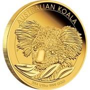 Australia 15 Dollars Australian Koala 2014 AUSTRALIAN KOALA coin reverse