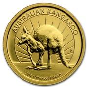 Australia 15 Dollars Kangaroo (Standing pose) 2011 AUSTRALIA KANGAROO 2011 1/10 OZ 9999 GOLD P coin reverse