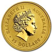 Australia 15 Dollars The Nugget 2007 ELIZABETH II AUSTRALIA 15 DOLLARS IRB coin obverse