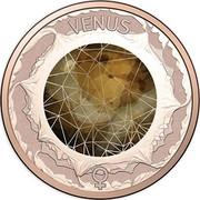 Australia 2 Cents Venus 2017 VENUS coin reverse