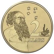 Australia 2 Dollars 50 Years of Decimal Currency 2016  2 DOLLARS coin reverse
