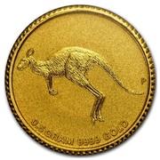 Australia 2 Dollars Kangaroo Mini Roo 2015 0.5 GRA, 9999 GOLD P coin reverse
