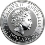 Australia 2 Dollars The Mouse 2007 ELIZABETH II AUSTRALIA 2 DOLLARS 2007 IRB coin obverse