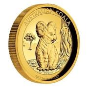 Australia 200 Dollars Resting Koala 2017 AUSTRALIAN KOALA 2017 2 OZ 9999 GOLD P TV coin reverse