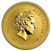 Australia 25 Dollars Climbing Monkey (Colorized) 2004 ELIZABETH II AUSTRALIA 25 DOLLARS IRB coin obverse