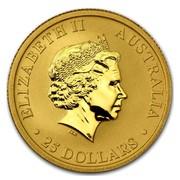 Australia 25 Dollars Kangaroo 2015 ELIZABETH II AUSTRALIA 25 DOLLARS IRB coin obverse