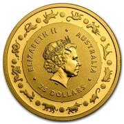 Australia 25 Dollars Monkey 2016 ELIZABETH II AUSTRALIA 25 DOLLARS IRB coin obverse