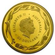 Australia 25 Dollars RAM Kangaroo 2016  ELIZABETH II AUSTRALIA IRB 25 DOLLARS coin obverse
