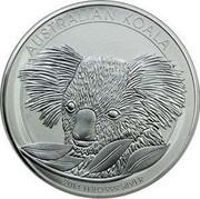 Australia 30 Dollars Koala 2014  AUSTRALIAN KOALA 2014 1 KILO 999 SILVER P MG coin reverse