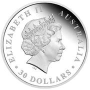 Australia 30 Dollars The Koala 1 kilo 2016 ELIZABETH II AUSTRALIA 30 DOLLARS IRB coin obverse