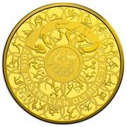 Australia 3000 Dollars Australian Olympic Team 2016 2016 AUSTRALIAN OLYMPIC TEAM coin reverse