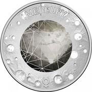 Australia 5 Cents Mercury 2017 MERCURY coin reverse