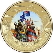 Australia 5 Dollars Distinctly Australian 2015 DISTINCTLY AUSTRALIAN coin reverse