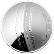 Australia 5 Dollars ICC Cricket World Cup 2015 2015 ICC CRIKET WORL CUP 2015 AUSTRALIA & NEW ZEALAND coin reverse