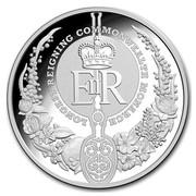 Australia 5 Dollars Longest Reigning Monarch 2015 LONGEST REIGNING COMMONWEALTH MONARCH EIIR coin reverse