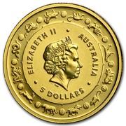 Australia 5 Dollars Monkey 2016 ELIZABETH II AUSTRALIA 5 DOLLARS IRB coin obverse