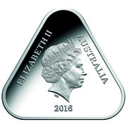 Australia 5 Dollars Remember The Fallen 2016 ELIZABETH II AUSTRALIA IRB 2016 coin obverse