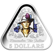Australia 5 Dollars Remember The Fallen 2016 REMEMBER THE FALLEN 5 DOLLARS coin reverse