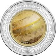 Australia 5 Dollars Saturn 2017 SATURN coin reverse