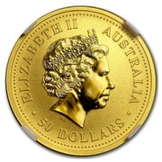 Australia 50 Dollars Lunar Dog 2006 ELIZABETH II AUSTRALIA 50 DOLLARS IRB coin obverse
