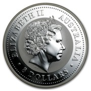 Australia 8 Dollars German Shepard 2006 ELIZABETH II AUSTRALIA 8 DOLLARS IRB coin obverse