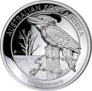 Australia 8 Dollars Kookaburra 2016 AUSTRALIAN KOOKABURRA 2016 5 OZ 999 SILVER P NM coin reverse
