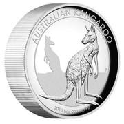 Australia 8 Dollars Resting Kangaroo 2016 AUSTRALIAN KANGAROO 2016 5 OZ 999 SILVER P IJ coin reverse