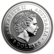 Australia 8 Dollars Year of the Pig 2007 ELIZABETH II AUSTRALIA 8 DOLLARS IRB coin obverse