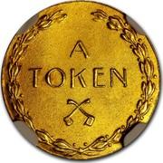USA A Token Abraham Lincoln 1927 A TOKEN coin reverse