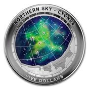 Australia Five Dollars Northern Sky - Cygnus 2016 NORSERN SKY - CEGNUS FIVE DOLLARS coin reverse