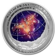 Australia Five Dollars Northern Sky - Ursa Major 2016 NORTHERN SKY - URSA MAJOR FIVE DOLLARS coin reverse