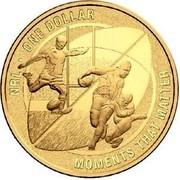 Australia One Dollar Moments that matter 2015 NRL ONE DOLLAR MOMENTS THAT MATTER coin reverse