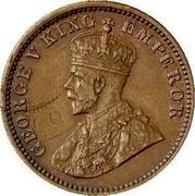 Australia One half penny George V - Mule 1916 I 5 known KM# 30 GEORGE V KING EMPEROR coin obverse