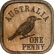 Australia One Penny George V (Kookaburra Pattern - Type 9) 1920 KM# Pn16 AUSTRALIA ONE PENNY coin reverse