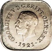 Australia One Penny Kookaburra Pattern 1921 Rennik-12 KM# Pn21 AUSTRALIA ONE PENNY coin reverse