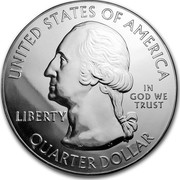 USA Quarter Dollar Fort Moultrie National Monument 2016 KM# 651 UNITED STATES OF AMERICA IN GOD WE TRUST LIBERTY QUARTER DOLLAR coin obverse