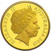 Australia Ten Dollars Australia's First Mints 2016 ELIZABETH II AUSTRALIA 2016 IRB coin obverse