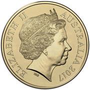 Australia Two Dollars Lest We Forget - Dome of Australian War Memorial 2017  ELIZABETH II AUSTRALIA 2017 IRB coin obverse