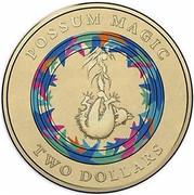Australia Two Dollars Possum Magic - Invisible Hush 2017  POSSUM MAGIC TWO DOLLARS coin reverse