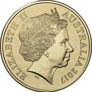 Australia Two Dollars Remembrance Day 2017 ELIZABETH II AUSTRALIA 2017 IRB coin obverse