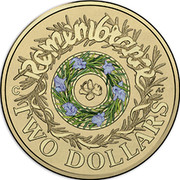 Australia Two Dollars Remembrance Day 2017 REMEMBRANCE TWO DOLLARS coin reverse