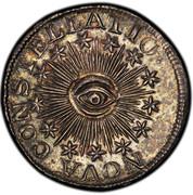 USA U.S 100 (Bit) 1783 KM# EA13.1 NOVA ∙ CONSTELLATIO ∙ coin obverse