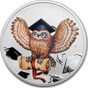 Australia 1 Dollar Graduation 2018 CONGRATULATIONS! P NM coin reverse