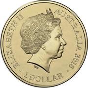 Australia 1 Dollar (Rascals & Ratbags) ELIZABETH II AUSTRALIA 2018 1 DOLLAR IRB coin obverse